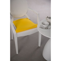 Poduszka na krzesło Royal żółta