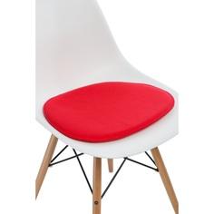 Poduszka na krzesło Side Chair czerwona