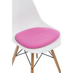 Poduszka na krzesło Side Chair różowa