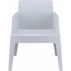Krzesło BOX srebrnoszare