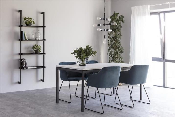 Biały stół jadalniany Kobe 160 w stylu nowoczesnym