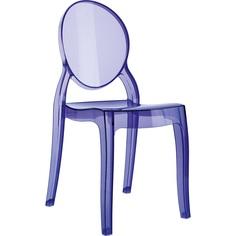Krzesło dziecięce BABY ELIZABETH fioletowe przezroczyste Siesta