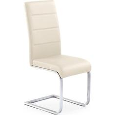 Krzesło K85 ciemno kremowe Halmar