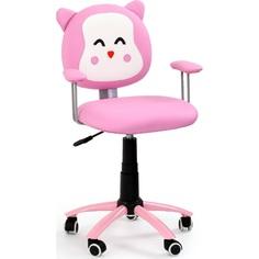 Fotel młodzieżowy KITTY różowy Halmar