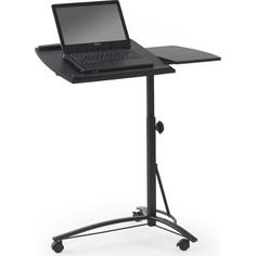 Biurko/stolik na laptopa B14 stolik czarny Halmar