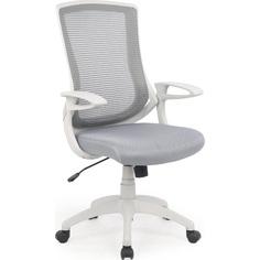 Fotel pracowniczy IGOR popielaty/jasno popielaty Halmar