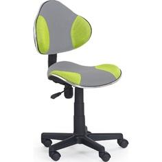 Fotel młodzieżowy FLASH 2 szaro-zielony Halmar