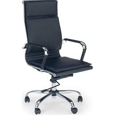 Fotel gabinetowy MANTUS czarny Halmar