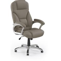 Fotel gabinetowy DESMOND popielaty Halmar