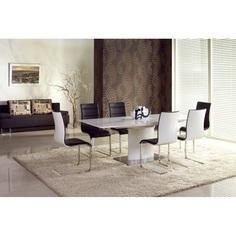 Stół rozkładany MARCELLO biały PRESTIGE LINE 180 Halmar