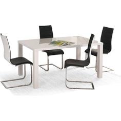 Stół RONALD biały rozkładany 120÷160/80 Halmar