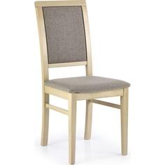 Drewniane krzesło tapicerowane SYLWEK1 dąb Halmar