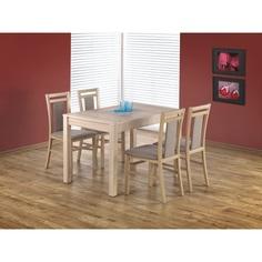 Drewniany stół MAURYCY dąb sonoma 118 Halmar