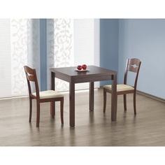 Stół rozkładany GRACJAN ciemny orzech 80 Halmar
